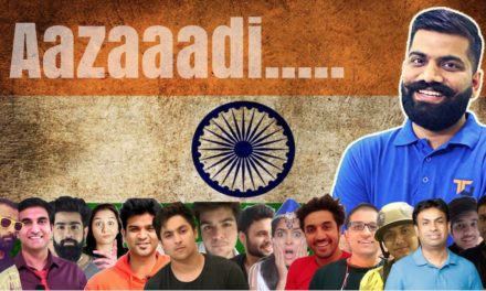 HAMARI AZAADI YouTube faces' Voice On Independent India