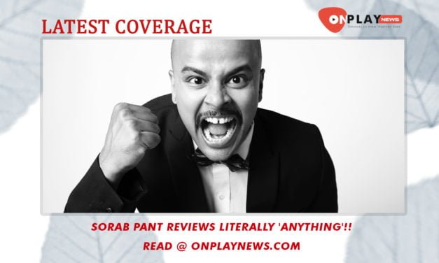 Sorabh Pant Reviews literally 'Anything'!!