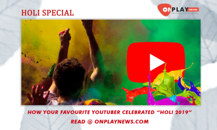 How your favorite Youtuber/ Web-series cast celebrated Holi 2019