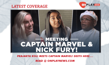 Prajakta Koli Meets Captain Marvel! Deets Here