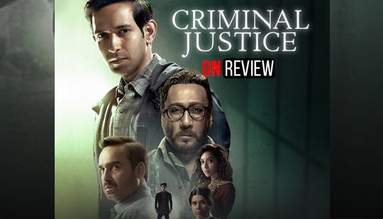OnReview Hotstar Criminal Justice