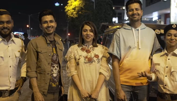 Tripling cast collab with Mumbai Police to spread traffic awareness